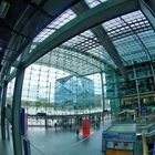 Blick aus dem Hauptbahnhof