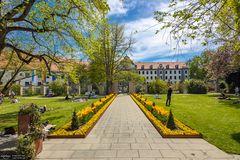 Blick aus dem Hofgarten