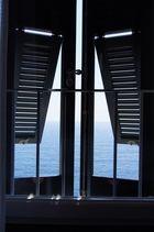 Blick aus dem Hotel Zimmer in Vernazza - Cinque Terre