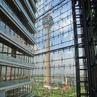 Blick aus dem Stadttor