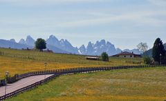 Blick aus dem Valser Tal Südtirol