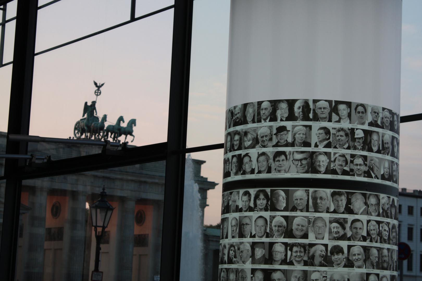 Blick aus der Akademie der Künste