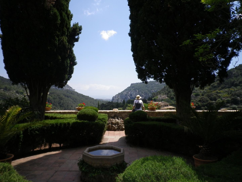 Blick aus der Klosterzelle