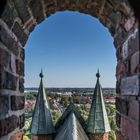 Blick aus der Stralsunder Marienkirche
