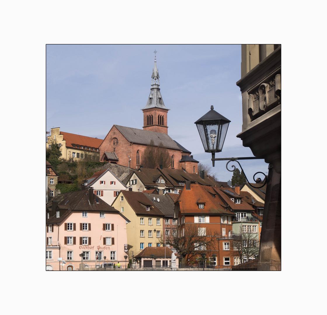 Blick aus Laufenburg Schweiz ..