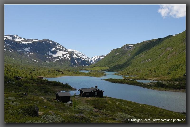 Blick durchs Bøverdalen ...