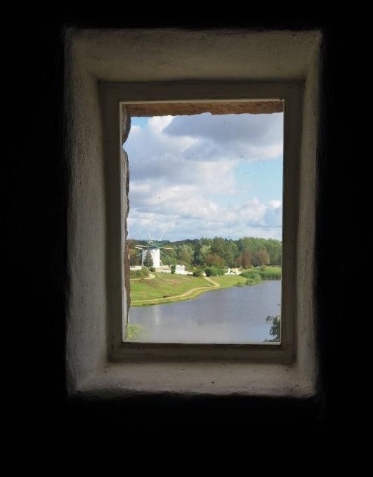 Blick durch's Fenster