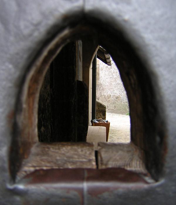 Blick durchs Guckloch... :-)