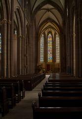 Blick in das Kirchenschiff