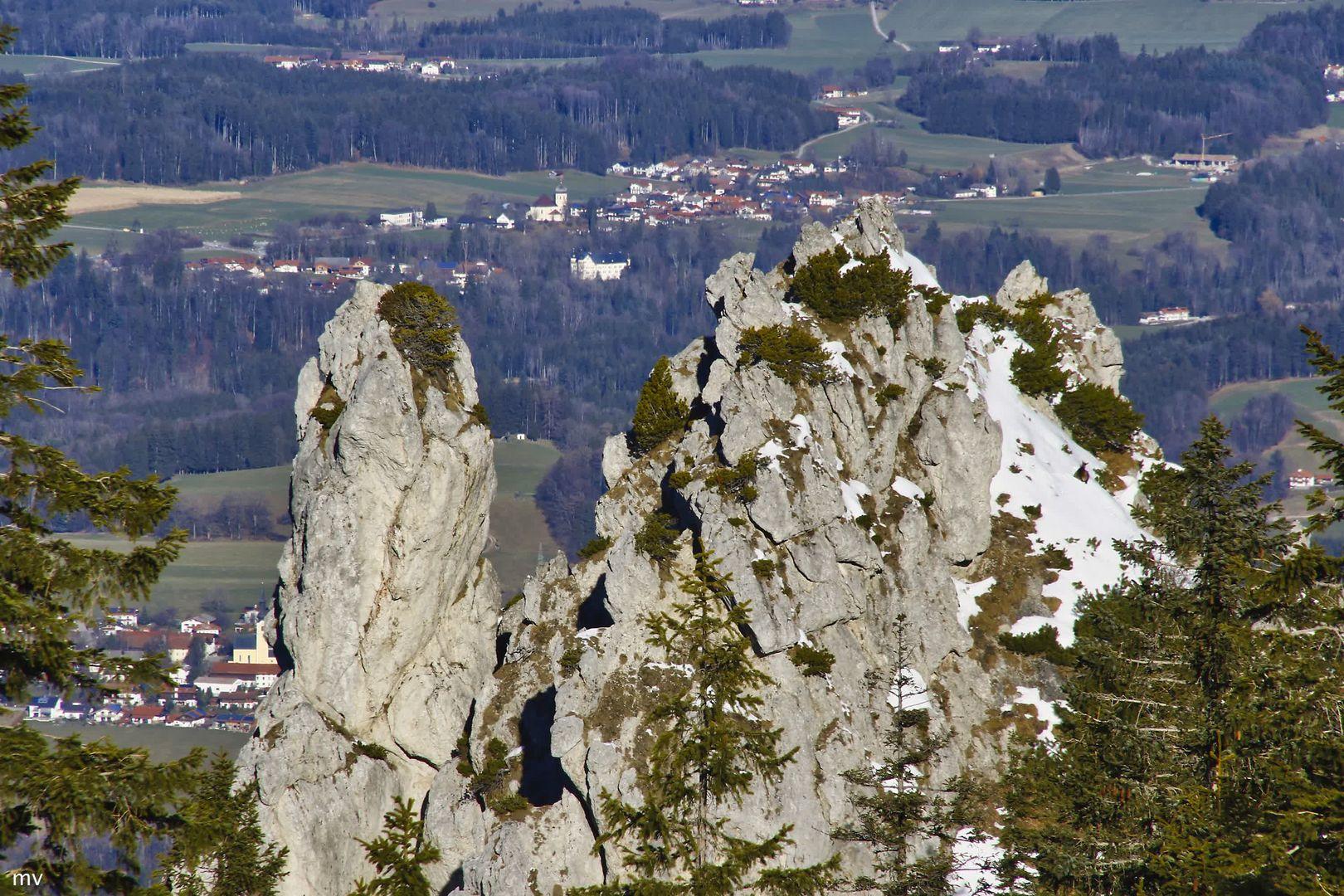 Blick in den Chiemgau