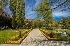 Blick in den Hofgarten