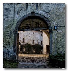 Blick in den Innenhof....
