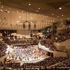 Blick in den Konzertsaal der Philharmonie, Berlin