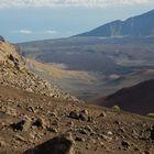 Blick in den Krater des Haleakala