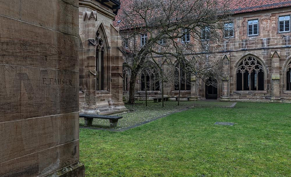 Blick in den Kreuzgarten