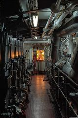 Blick in den Maschinenraum der Cap San Diego (2)