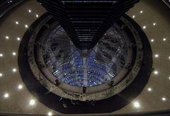Blick in den Sitzungssaal des Reichstages Berlin