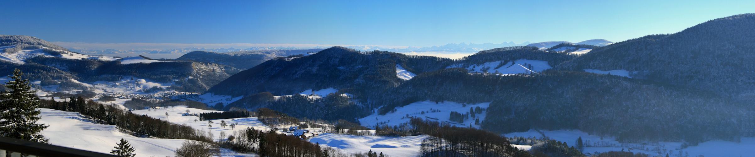 Blick in die Alpen 2