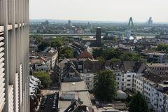 Blick in die Kölner Südstadt