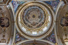 Blick in die Kuppel der Basilika Santa Maggiore