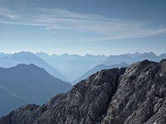 Blick in die Lechtaler Alpen