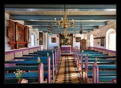 Blick in die Mandø Kirke