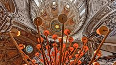 Blick in die Neo-Renaissance Kuppeln des BERLINER DOMS  (2)