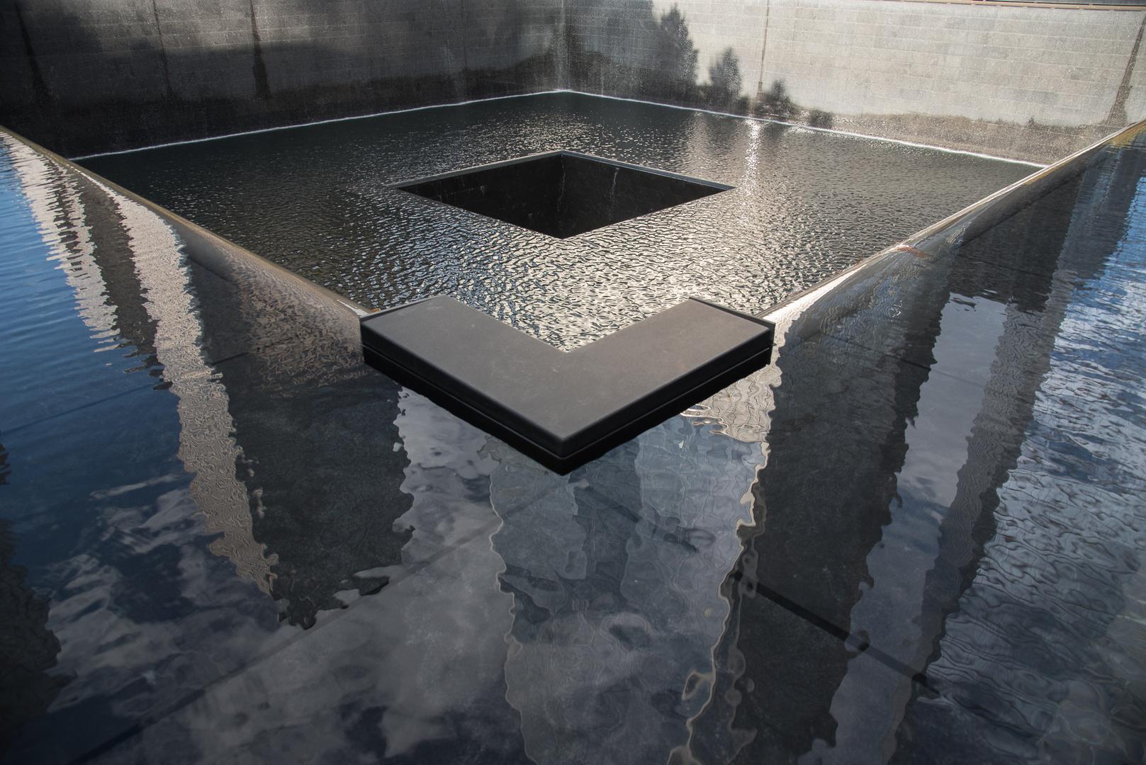 Blick in die Tiefe - Ground Zero, New York