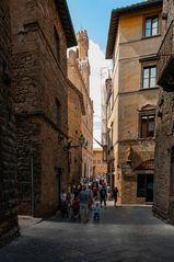 Blick in die Via dei Marchesi