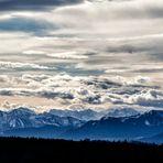 Blick in die Zillertaler Alpen