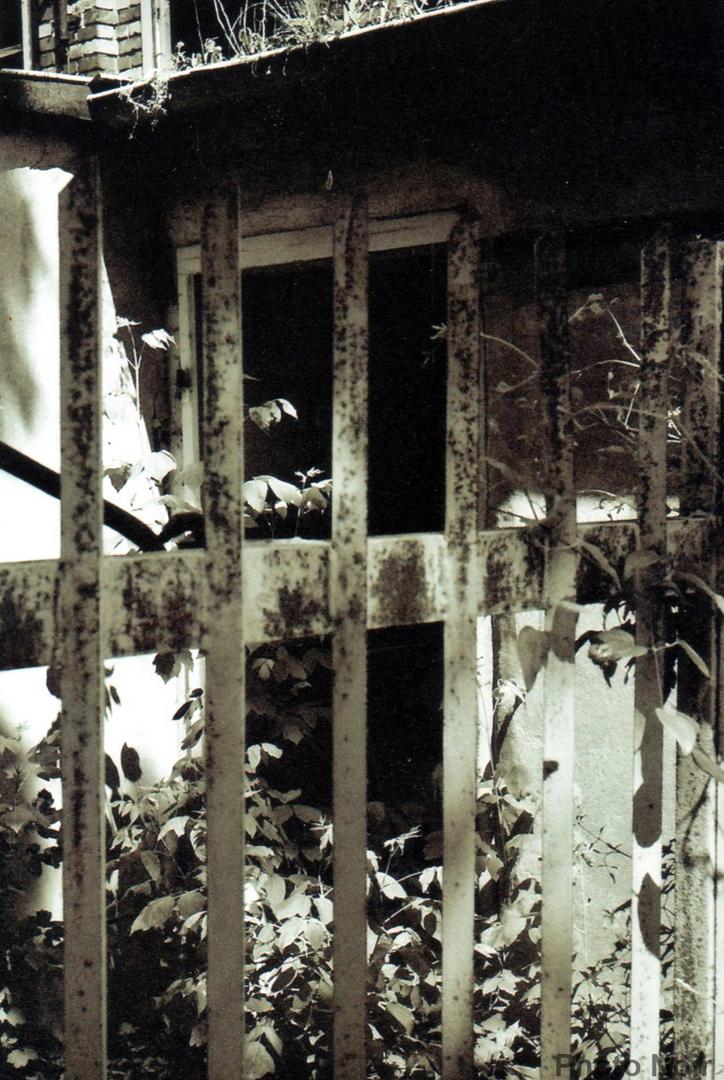 Blick in eine alte Fabrikhalle