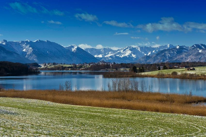 Blick ins Ammertaler Gebirge