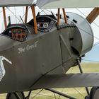 Blick ins Cockpit der Nieuport 11