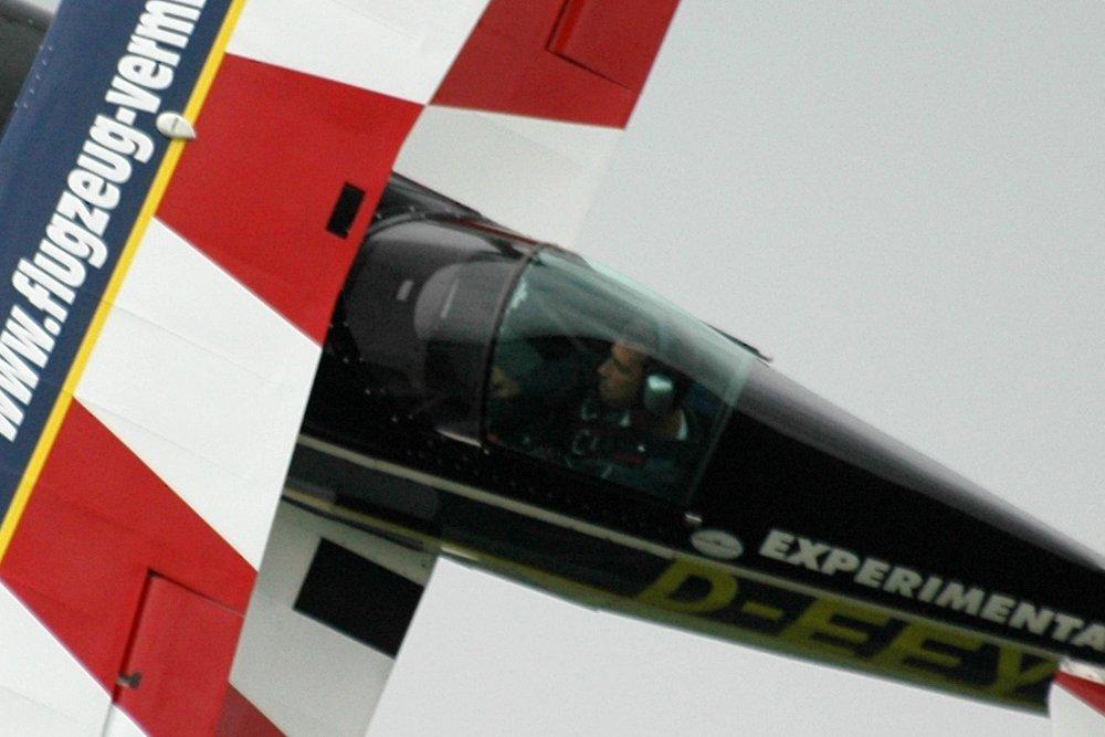 Blick ins Cockpit einer Pitts
