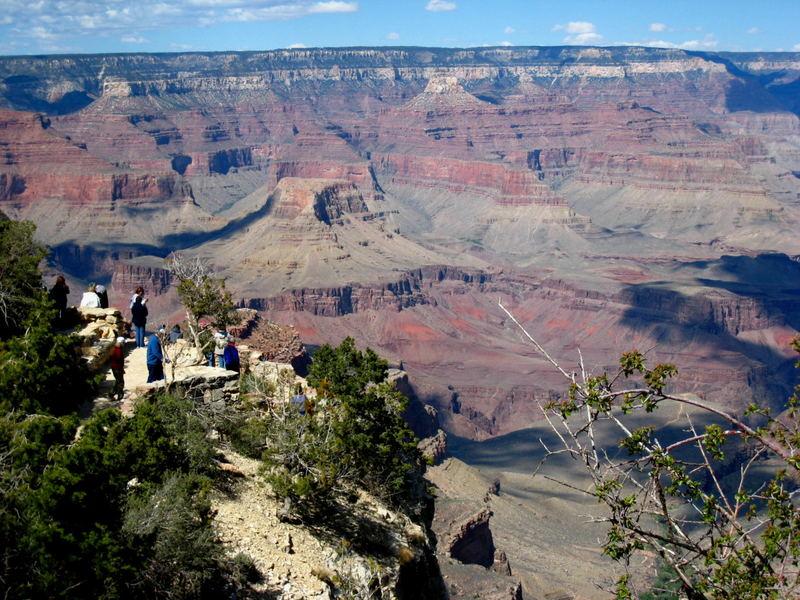 Blick ins Grand Canyon