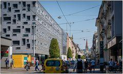 Blick ins Gundeldinger-Quartier