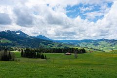 Blick ins obere Entlebuch......