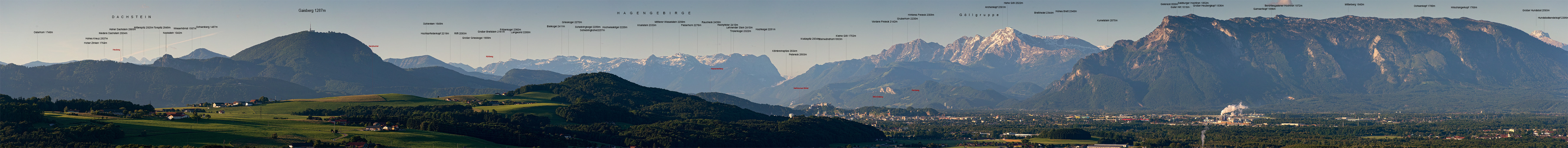 Blick ins Salzburger Alpenvorland III