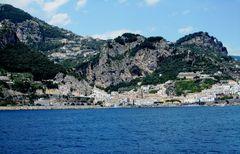 Blick nach Amalfi