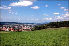 ... Blick nach Basel ...