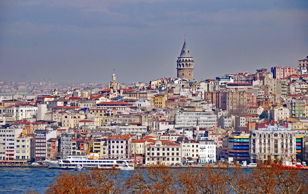 Blick nach Karaköy mit Galaturm