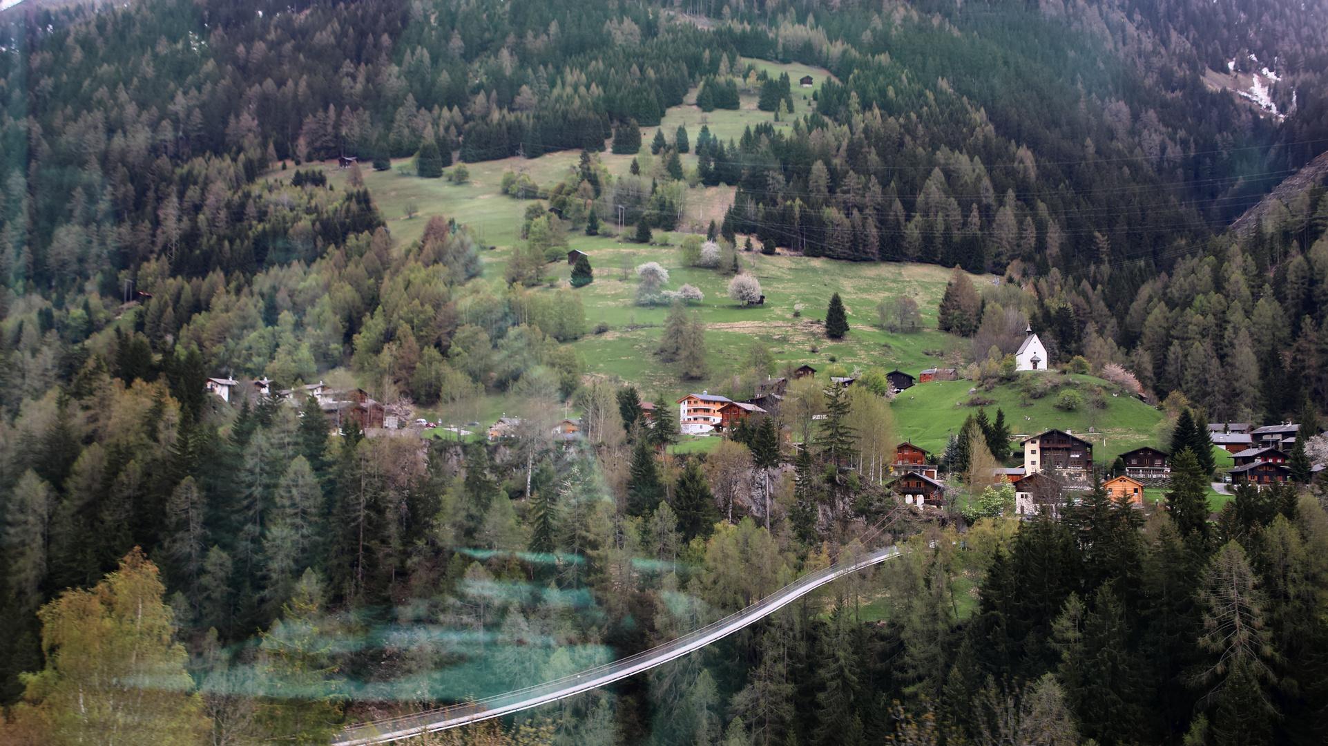 Blick nach Mühlebach VS