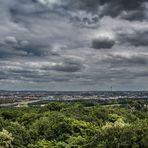 Blick nach Nürnberg