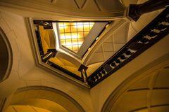 Blick nach oben im Alten Rathaus in Dortmund