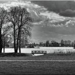 Blick nach Potsdam ...