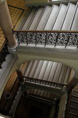 Blick nach unten im Rathaus von Graz