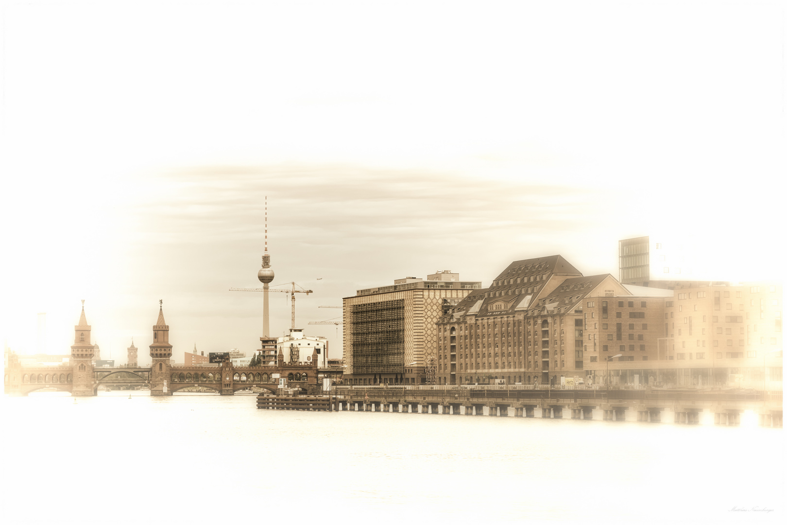 Blick Richtung Osthafen