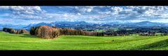 Blick Richtung Wendelstein