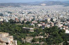 Blick über Athen I