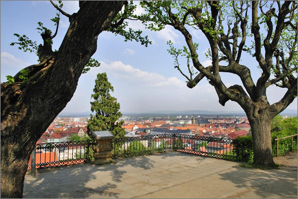 Blick über Bamberg